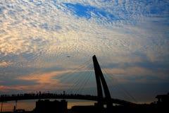 danshui, Taipei, Taiwán Fotos de archivo libres de regalías