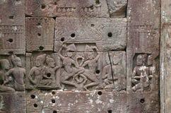 Dansing Apsaras в Angkor Wat Стоковые Изображения