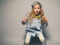 Dansing child Stock Photography