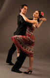 Dansing couple