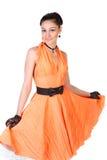 Dansing girl. Stock Photography