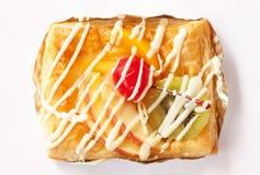 dansk frukt för bageri Royaltyfria Bilder