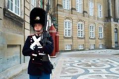 dansk guardkunglig person Arkivfoton