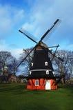 dansk windmill Royaltyfri Foto