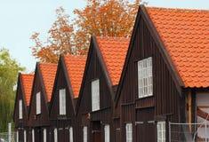 Danska byggnader Arkivfoton