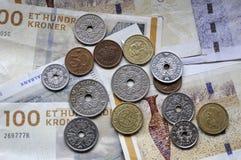 DANSKA KRONER _BUSINESS OCH FINANS Royaltyfria Bilder