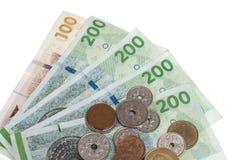 danska pengar Royaltyfria Bilder