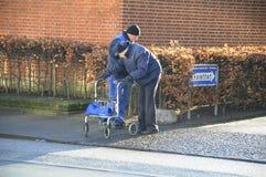 DANSKA PENSIONÄRER Royaltyfri Foto