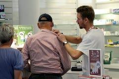 DANSKA PENSIONÄRER OCH HÄLSA Fotografering för Bildbyråer