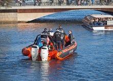 danska polisar Royaltyfria Bilder