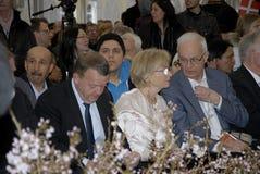 DANSKA PREMIÄRMINISTRAR OCH _CITIZENSHIP-BERÖM Royaltyfria Bilder