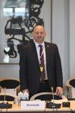 DANSKA VÄRDAR FÖR RÄTTVISA MINISTER_ SOREN PEPE POULSEN arkivfoto