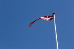 Danska Vimpel Arkivfoton