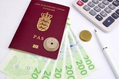 Danskalopppengar Royaltyfri Bild