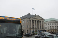 DANSKE BANK głowy budynek biurowy Obrazy Royalty Free