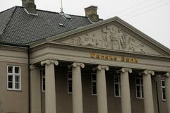 DANSKE BANK-GEBÄUDE Stockbilder
