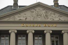 DANSKE BANK-GEBÄUDE Lizenzfreies Stockbild
