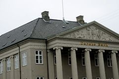 DANSKE BANK-GEBÄUDE Lizenzfreie Stockbilder