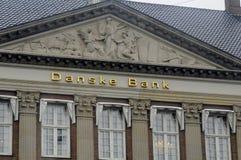 DANSKE BANK-` S GEBÄUDE KOPF-OFFIE Lizenzfreies Stockbild