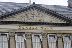 DANSKE BANK-` S GEBÄUDE KOPF-OFFIE Stockbilder
