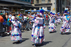 2014 Dansparade Royalty-vrije Stock Afbeelding