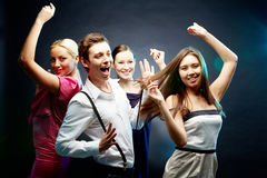 dansrörelser Arkivfoton
