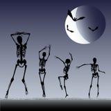 dansskelett Arkivbild