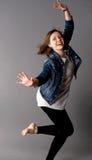 dansstudiokvinna arkivbilder