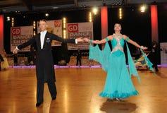 dansturnering Royaltyfria Foton
