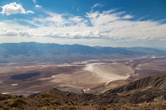 Dante'smening - het Nationale Park van de Doodsvallei, Californië, de V.S. Stock Fotografie