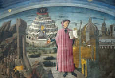 Dante alighieri Royalty Free Stock Image
