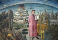 Dante Alighieri Immagine Stock Libera da Diritti