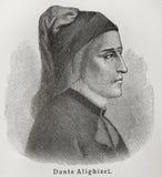 Dante Alighieri Fotografía de archivo libre de regalías