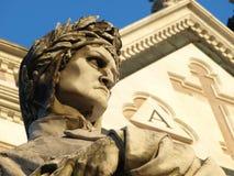 Dante Alighieri - Florenz Stockfotografie