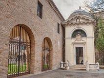 Dante Alighieri grobowiec w Ravenna, Włochy zdjęcie stock