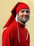 Dante Alighieri impersonator, Florence, Italien royaltyfri foto