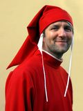 Dante Alighieri impersonator, Florence, Italy Royalty Free Stock Photo