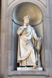 Dante Alighieri statue by Emilio Demi, Florence Stock Photo