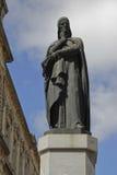 Dante Alighieri-Statue, Montevideo Stockbild