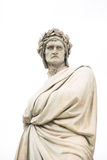 Statue of Dante Alighieri in Florence, Italy Stock Images
