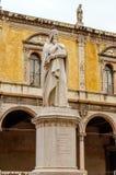 Dante Alighieri Statue, Verona Stock Photography