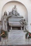 Dante Alighieri Tomb Basilica of Santa Croce - Florence Stock Photography