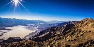 Dante's Peak at Death Valley Stock Photo