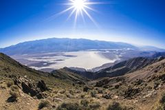 Dante's Peak at Death Valley Royalty Free Stock Photography