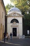 Dante's tomb in Ravenna Stock Image