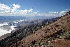 Dante's View. Death Valley National Park Stock Photo