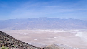 Dante's view in Death Valley Stock Photography