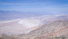 Dante's view in Death Valley Royalty Free Stock Photography