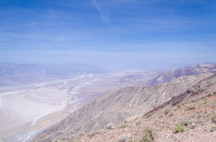 Dante's view in Death Valley Stock Photo