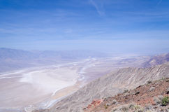Dante's view in Death Valley Stock Photos